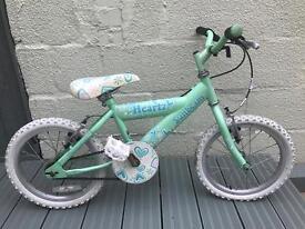 Girls Heartz Raleigh Bike