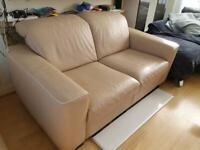 Two Natuzzi Leather Sofas