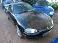 Mx5 mx-5 mx 5 Mk2. Black 1800. MOT December. Drives superbly. Excellent inside and out. Ready to go.