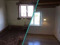plastering,painting, tiling,