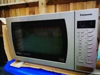 Panasonic Combination Microwave Oven 1000w Stainless Steel