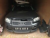 Audi A3 2004 start & drives with no leaks would need a recovery truck to take it away