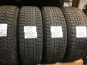 winter tires/rims (firestone winterforce 215/65r17)