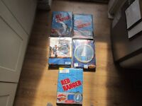 """""""""""REDUCED"""""""" 5 SETS OF NEW IN PACKET KIDS ROOM CURTAINS ASSORTED SIZE. THE LOT FOR £4."""