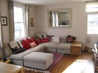 Corner sofa with 2 ottomans and chaise ikea