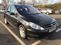 PEUGEOT 307 S Hdi 90,, 5 DOORS HATCHBACK..1 YEAR FRESH MOT..2 keys £750