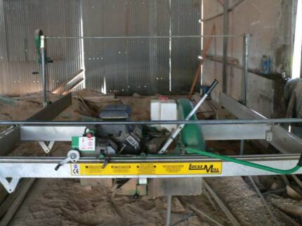 """Lucas Mill 8"""" 30hp for sale Kinglake Central Murrindindi Area Preview"""