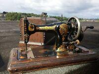 Jones hand sewing machine vintage