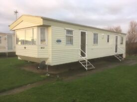 Static Caravan holiday home for sale.