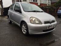 TOYOTA YARIS 1.3CDX AUTOMATIC-5 DOORS,FULL SERVICE HISTORY,2OWNERS,MOT SEP2017,ALLOYS,HPI CLEAR