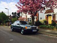 Mercedes 190 e w201 automatic mot 1 year