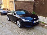 Black Audi TT Sports, 2.0 Litre - perfect condition looks new!