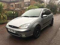 FORD FOCUS ZETEC 3 DOOR HATCH 2005 3 DOOR 12 MONTHS MOT EXPENSIVE ALLOYS 110k