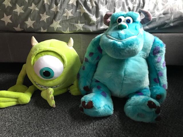 6f0043d3703 Large Disney Pixar Mike   Sully Monsters Inc Soft Toys