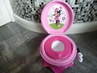 Minnie mouse potty system 3 in 1