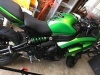 Kawasaki Er6F in great condition