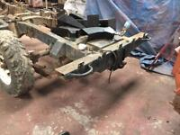 Land Rover 109 chassis