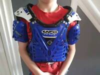 Junior body armour motocross