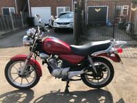 Yamaha ybr 125 custom low mileage