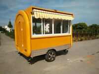 Catering Trailer Food Cart Burger Van Ice Cream Cart 2800x2000x2300