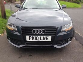 Audi A4 2010 low mileage excellent runner