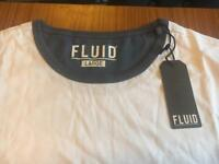 Men's Fluid t-shirt, large, new