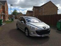 2008 PEUGEOT 308 12 MONTH MOT FULL SERVICE HISTORY LOW MILEAGE FULL HPI CLEAR CROUIS CONTROL