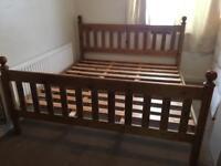 Super kingsize pine bed frame-£75 delivered