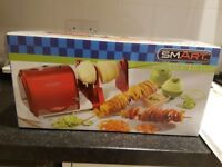 smart 50's style electric spiraliser, slicer and peeler