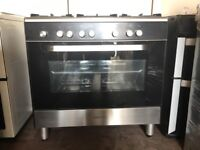 Kenwood dual fuel gas range cooker 90cm FSD 3 months warranty free local delivery!!!!