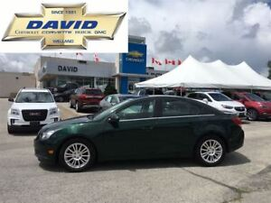 2014 Chevrolet Cruze Eco 4DR, LOADED, RMTSTR, AC, XM, STCTRL