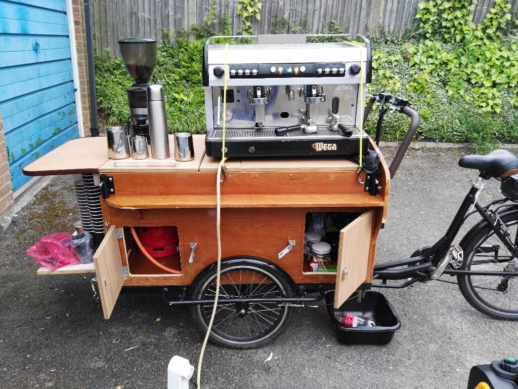 Coffee Bike Trike Mobile Espresso Machine Business