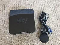 Sky Hub-Used for few weeks only