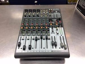 Console mixer Behringer 12 entrées + 48V phantom + multi-effects 24 bits #F025768