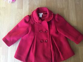 Monsoon Little Red Riding Hood Jacket