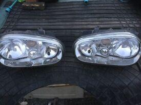 Mark 4 golf headlights