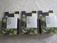 HP 364 ink cartridges (3 full sets of four colors)
