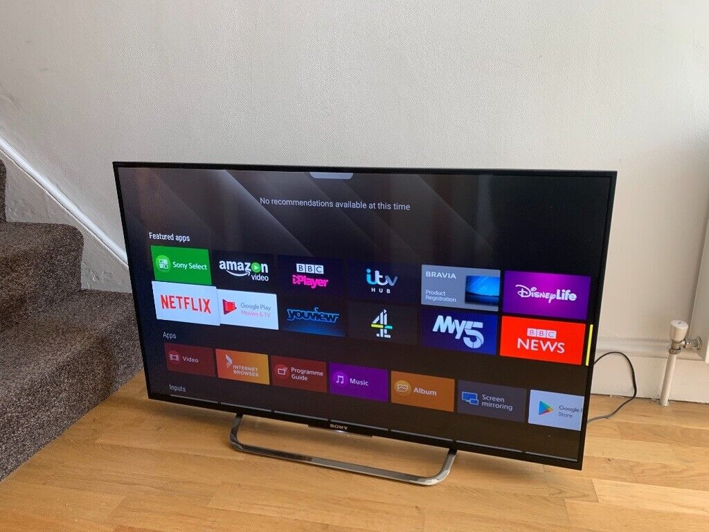 """Sony 43"""" 4K ultra hd smart led ANDROID tv Excellent condition full  working£290 NO OFFERS CAN DELIVER 