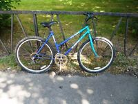 """Ladies Mountain Bike For Sale. Fully Serviced & Ready To Ride. Guaranteed. 18 Speed. 19"""" Frame"""