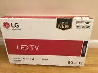 """Brand new LG 32"""" LED TV"""