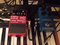 Boss RC-3 & TC Electronic Flashback