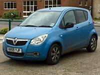 Quick Sale Vauxhall Agila 1.2 Diesel turbo Eco Flex 34k mile genuin warrantd Mot 03/02/2018 manual