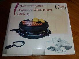 Electric Raclette set for 6 persons