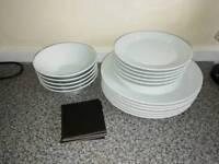 Full Kitchen set, plates, glasses etc