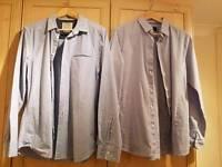2 men's burtons shirts