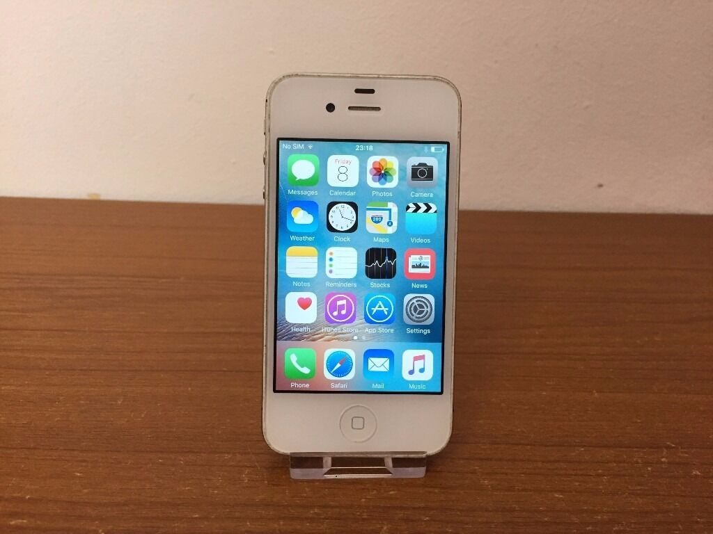 APPLE IPHONE 4S16GBON O2/TESCO/GIFFGAFFin Kingswood, BristolGumtree - APPLE IPHONE 4S 16GB ON O2/TESCO/GIFFGAFF GREAT CONDITION AND FULLY WORKING ORDER COMES WITH CHARGER AND SMART CASE GRAB A BARGAIN £80 CAN BE SEEN WORKING CALL TEXT ON 07379413338 THANKS FOR LOOKING
