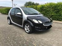 SMART FORFOUR PASSION 2006 10 MONTHS MOT 1.5 76000 MILES AUTOMATIC DRIVES LOVELY