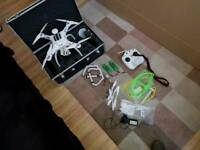 Drone with gimble and extras gps