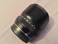 Fujifilm XF60 portrait and macro Fujinon lens (XF60mm XF-60)