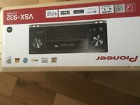 Pioneer VSX-932 AV Receiver Black